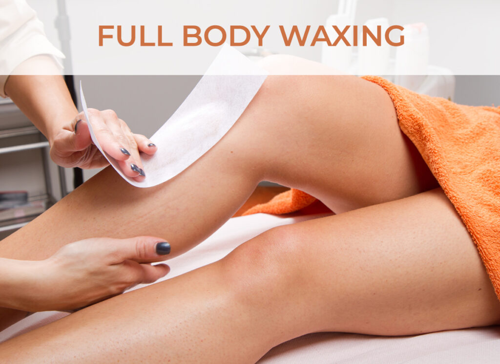 Full Body and Facial Waxing Service - Click to learn more