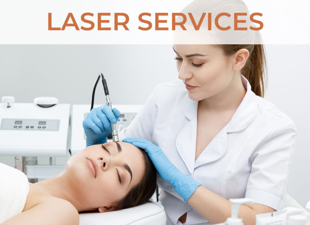 Our Laser Services - Click to learn more