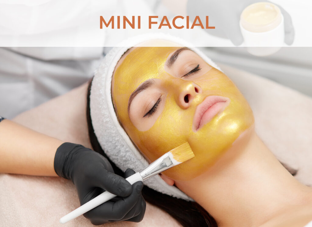 Mini Facial Services - Click to learn more